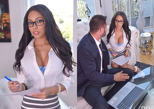 Shay Evans - Office Orgasms - Boobs Nude Pics