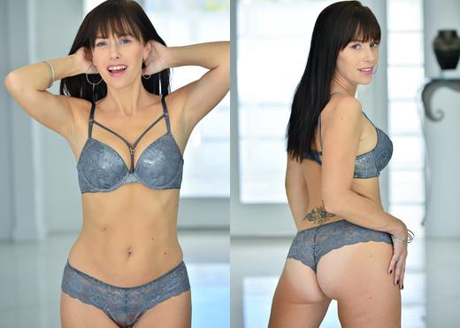 Alana - Flirty Purple - FTV Milfs - MILF Nude Pics