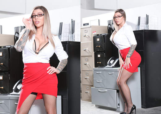Karma Rx - Big Tit Office Chicks #06 - Devil's Film - Hardcore HD Gallery