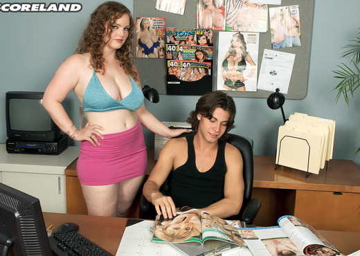 Contessa Rose - Sex At The SCORE Office - ScoreLand - Boobs Nude Gallery