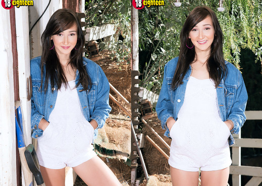 Carmen Rae - Barn Babe - 18eighteen - Teen Picture Gallery