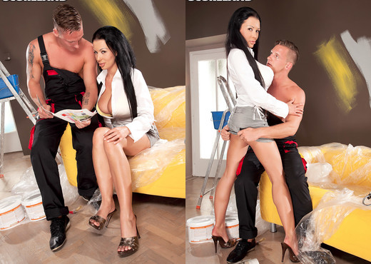 Patty Michova - Patty & The Painter - ScoreLand - Boobs Image Gallery