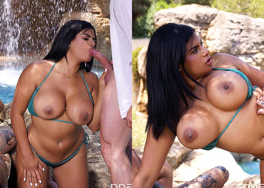 Sheila Ortega, Kesha Ortega - Curvy Twins Double Fuck - Hardcore Picture Gallery