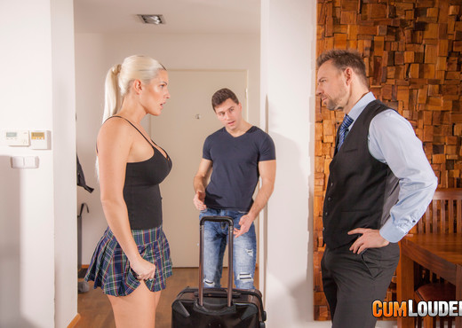Blanche Bradburry - Spare the rod, spoil the blonde - Hardcore Nude Pics