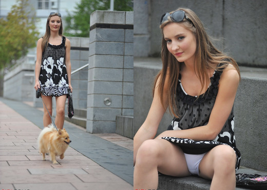 Alisha - Lucky Dog - Girlfolio - Solo Nude Gallery