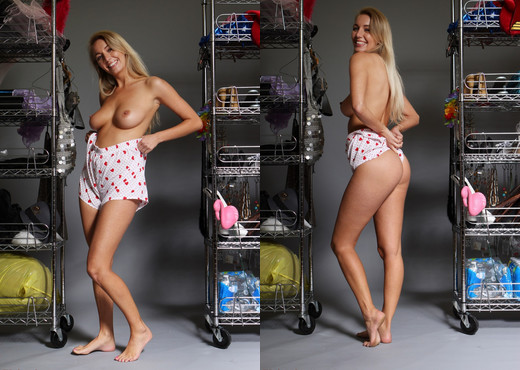 Hayley Marie Coppin - Wardrobe Tests - Hayley's Secrets - Solo Image Gallery