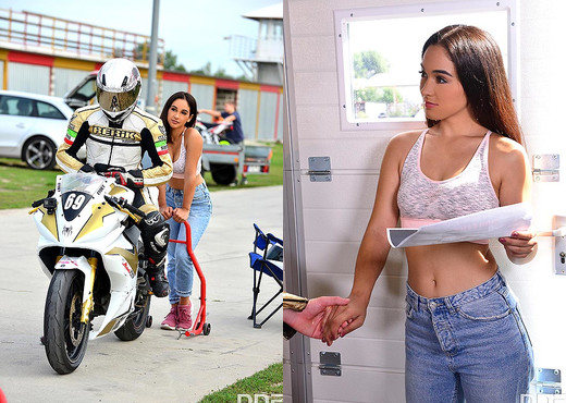 Ginebra Bellucci - Biker Bangs Fan's Asshole - Hardcore Nude Pics