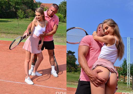 Tiffany Tatum - She Goes For Penis Instead of Tennis - Hardcore TGP