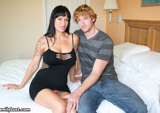 Angie Noir - Step-mom seduction - Family Lust - Hardcore Sexy Photo Gallery