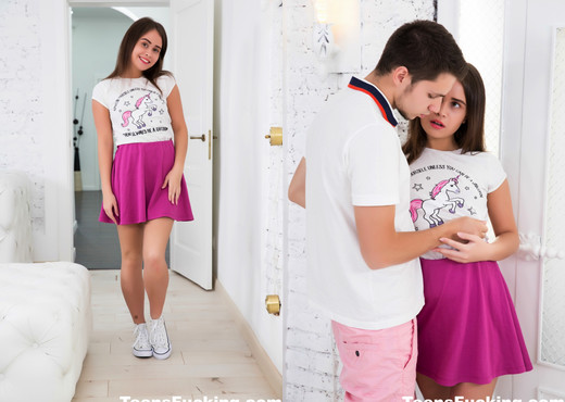 Super cute Jenny keeps on her high-tops for fucking - Teen Sexy Photo Gallery