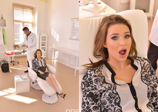 Mia Ferrari - Dentist Gets an Oral Exam - Blowjob Picture Gallery