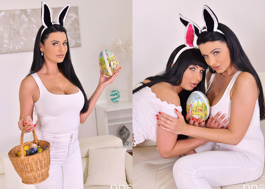 Valentina Ricci, Ania Kinski - Anal Egg Hunt - Boobs Nude Gallery