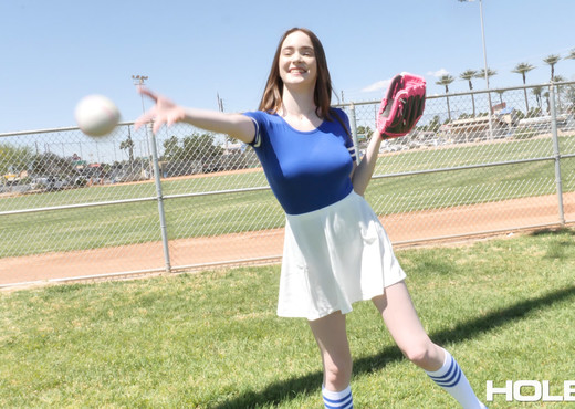 Hazel Moore - Batter Up - Holed - Anal Hot Gallery