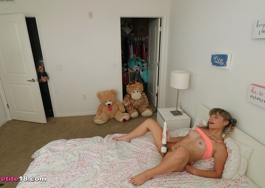 Anna Mae - Step Sis Blackmailed - Petite 18 - Teen HD Gallery