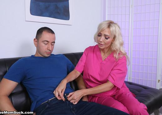 Victoria Lobov - Step Mom Semen Extraction - See Moms Suck - Blowjob TGP