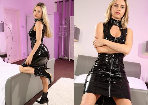 Natasha Pvc Dress - Strictly Glamour - Solo Image Gallery