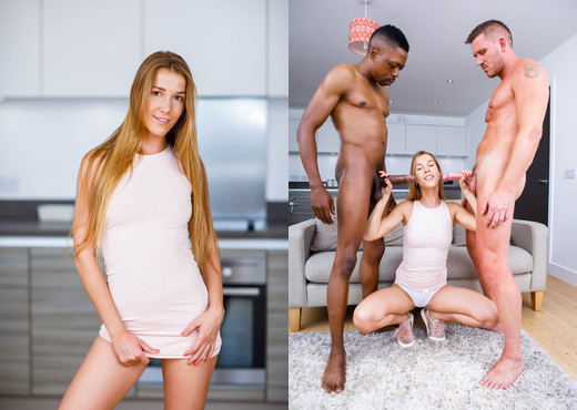 Naughty Alexis Crystal Gets a DP - Private Black - Hardcore TGP