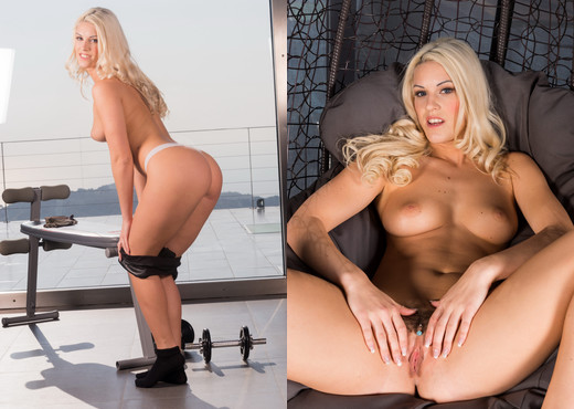 Naughty blonde Blanche sucks and gets ass fucked - Anal Nude Gallery