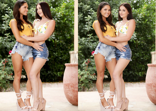 Zoe Bloom, Danni Rivers - Babysitter Backup - Girlsway - Lesbian TGP