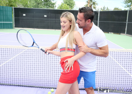 Serena Avery - Stepbro Gives Tennis Lesson To Horny Stepsis - Hardcore Nude Gallery