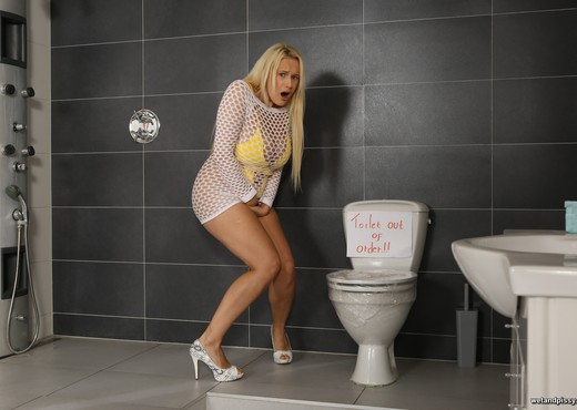 Big titted Angel Wicky toys her pissy pussy - Wet and Pissy - Toys Image Gallery