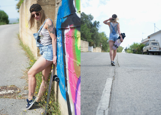 Pippa Doll - 'Rad' Skater - BreathTakers - Solo Image Gallery