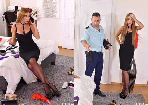 Marilyn Crystal - Foot Fetish Fucking Cop - Hardcore Porn Gallery
