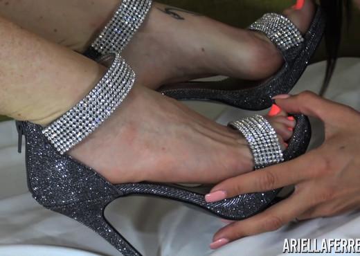 Ariella Ferrera in Sensual Foot Massage - Pornstars Picture Gallery