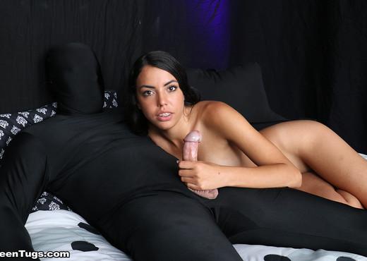 Teen Rachel Rivers jerks off her slave - Teen Tugs - Teen Sexy Gallery
