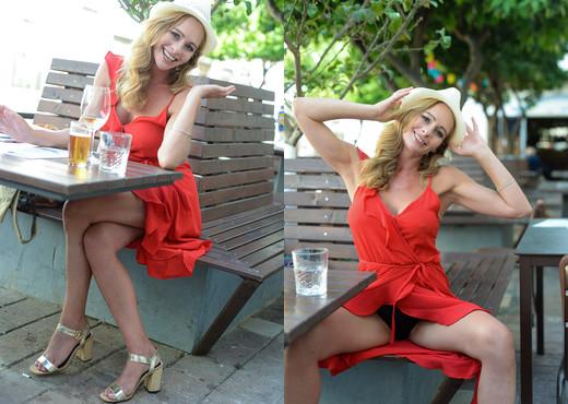 Eve - Red Dress Cafe - FTV Milfs - MILF Nude Gallery
