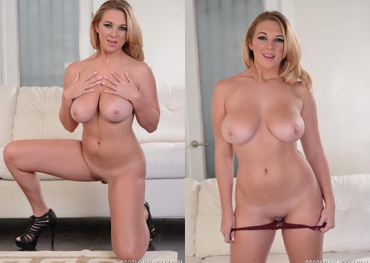 Brooke Wylde in Burgandy - Pornstars Sexy Gallery