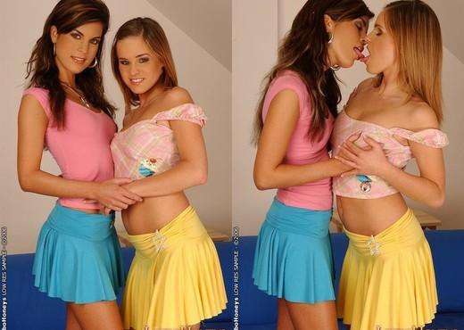 Nella & Kristy Playing Lesbians - Lezbo Honeys - Lesbian Nude Pics