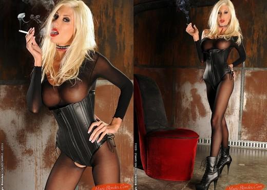 Puma Swede Smoking - Magic Blondes - MILF HD Gallery