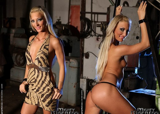 Mandy Bright & Pearl Diamond Lesbian BDSM - Mighty Mistress - BDSM HD Gallery