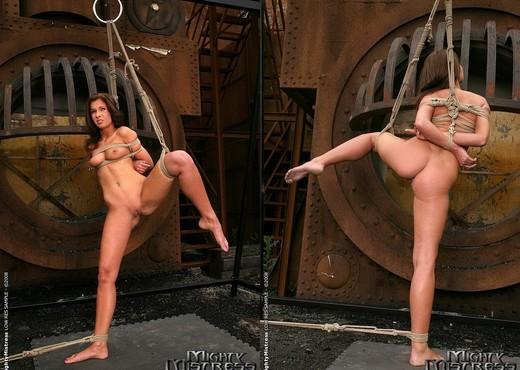 Sabrina Sweet & Kissy Lesbian BDSM - Mighty Mistress - BDSM Image Gallery