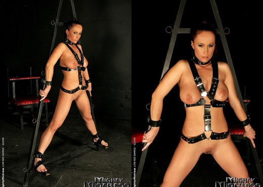 Kathy Parker & Mandy Bright Lesbian Punishment - BDSM Sexy Photo Gallery