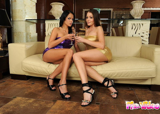 Lesbian Action with Nelly Sullivan & Trixie - Lesbian HD Gallery