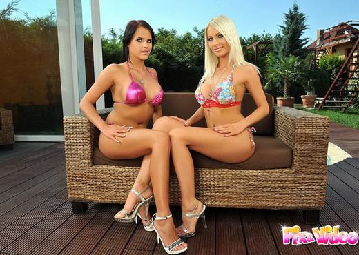 Adelle & Trixie Playing Lesbians - Lesbian TGP