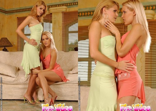 Sophie Moone & Katalin Toying Lesbians - Lesbian Sexy Gallery