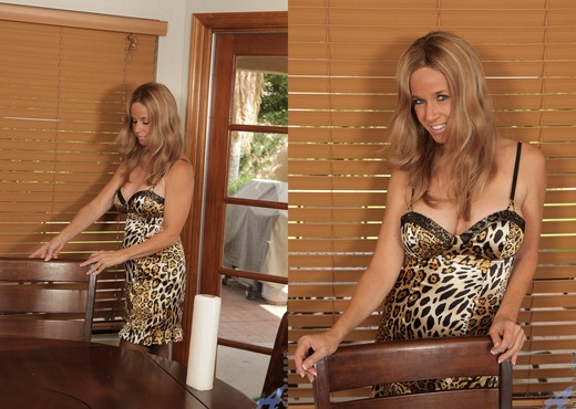 Totally Tabitha - Spread Wide On The Table - MILF Sexy Photo Gallery