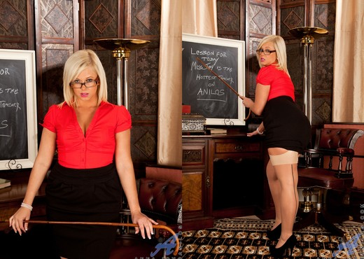 Anna Joy - Naughty Teacher - MILF Porn Gallery