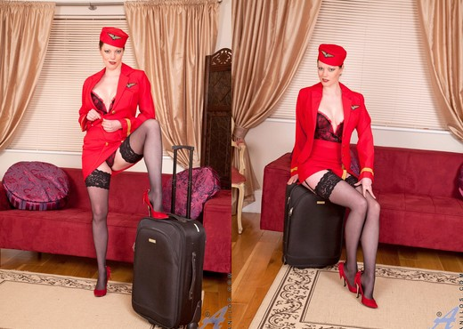 Holly Kiss - Stewardess - Anilos - MILF Porn Gallery