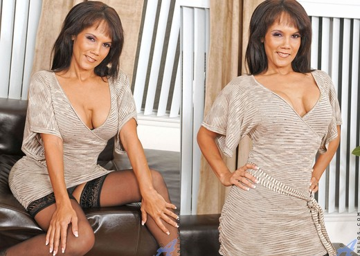 Anjanette Astoria - Black Stockings - MILF Image Gallery