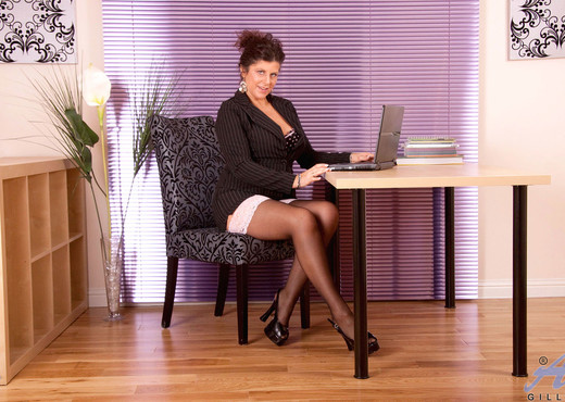 Gilly - Office Attire - Anilos - MILF Porn Gallery