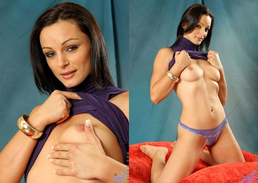 Cameron Cruz - Purple Undies - MILF Hot Gallery