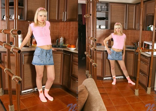 Ametista - trying to cook, but gets distracted - Teen HD Gallery