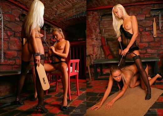 Massacre - Verunka & Lola - Lesbian Nude Gallery