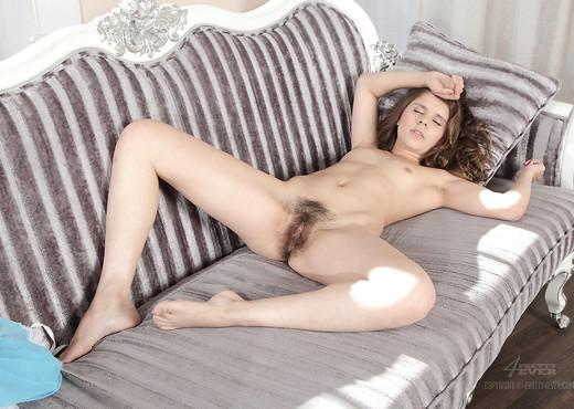 Russian Hairy Teen Model Lola - Sensual - Toys HD Gallery