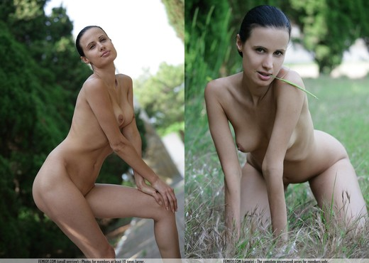 Nude Park - Paris - Femjoy - Solo Hot Gallery