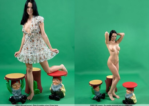 Snow White - Gwen - Femjoy - Solo HD Gallery
